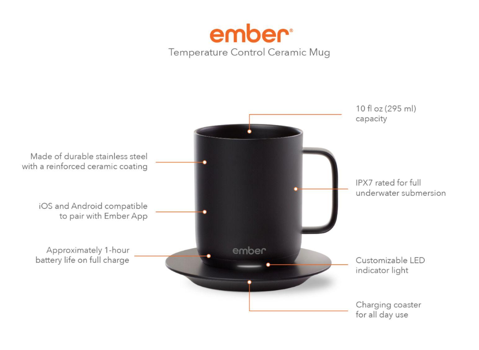 Ember mug details