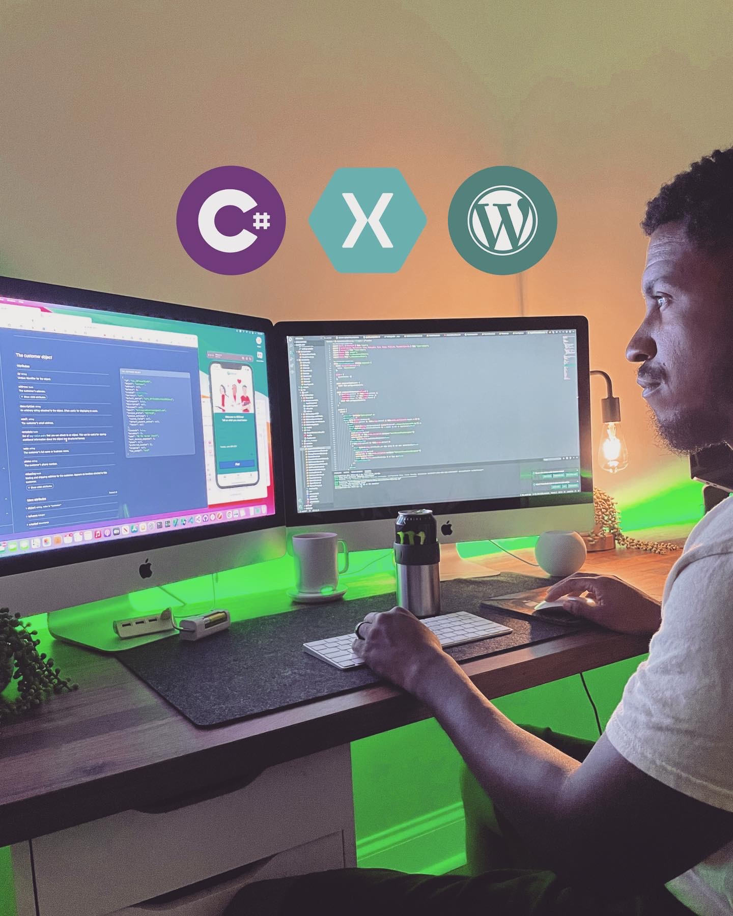 Late night coding with Xamarin and WordPress projects
